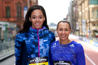 Jessica Ennis-Hill & Katrina Johnson-Thompson - Great CityGames