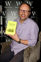 Robert Llewellyn signing copies of his new book 'News From Gardenia'