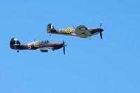 Hawker Hurricane and Supermarine Spitfire