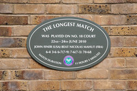 Longest match plaque