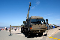 Army vehicle - Rhyl Air Show