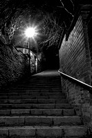 108 Steps (black and white)